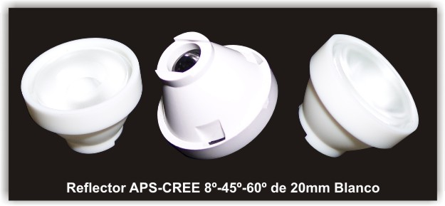 Reflector 23mm APS-CREE 30M