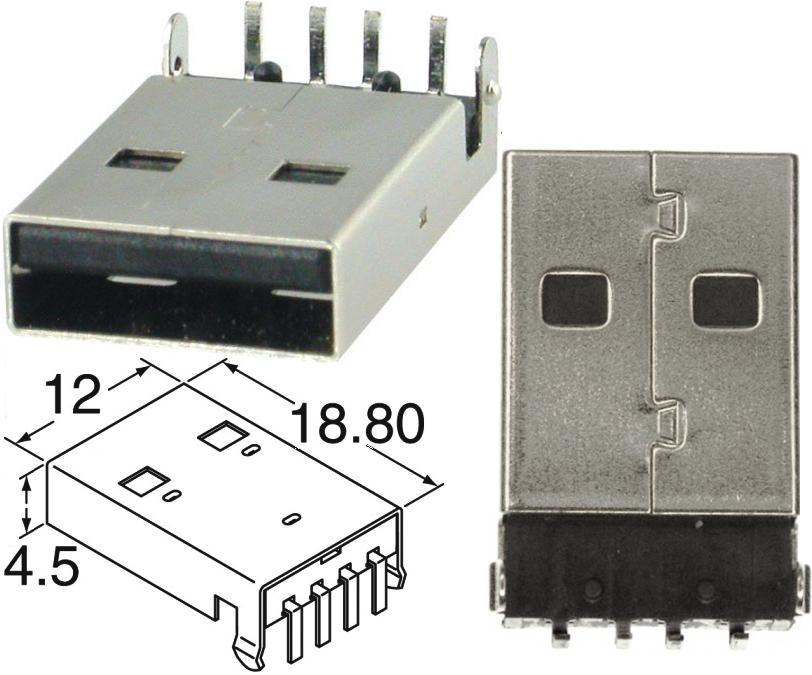 USB-Connector-4p